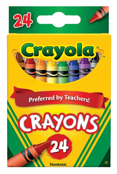 Crayola Original Crayons 24-Color