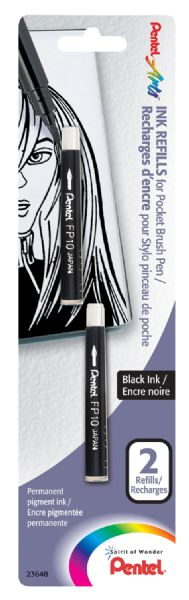 Pentel Refill Pocket Brush Pen
