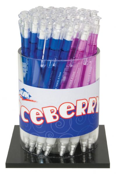 Alvin Iceberry Mechanical Pencil Display