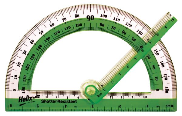 "Helix 6"" Swing Arm Protractor"