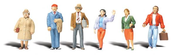 "Woodland Scenics Standing People – 1/4"" Scale"