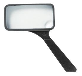 "Ultraoptix® 2x/6x 2"" X 4"" General Purpose Magnifier"