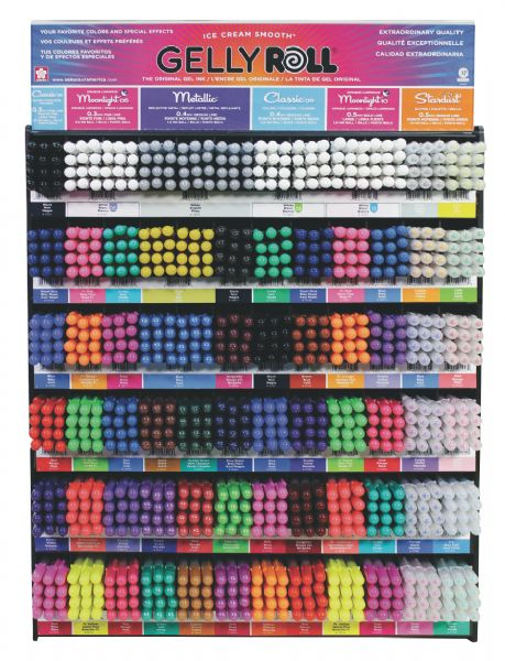 Gelly Roll Mega Display Assortment