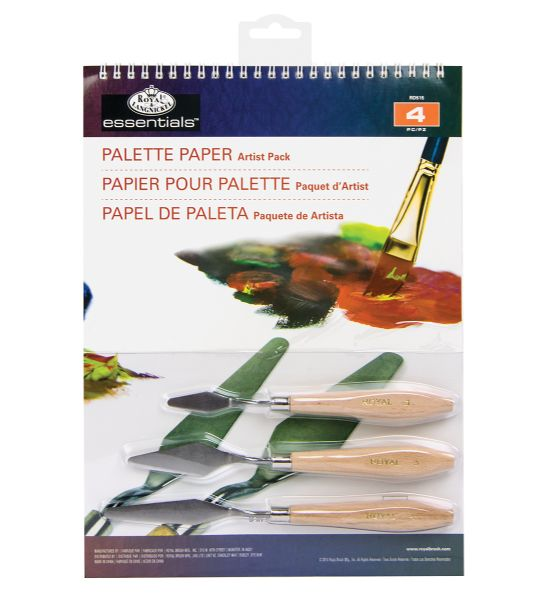 Royal & Langnickel Essentials™ Palette Paper Artist Pack