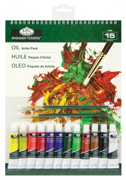 Royal & Langnickel Essentials™ Oil Color Paint Artist Pack