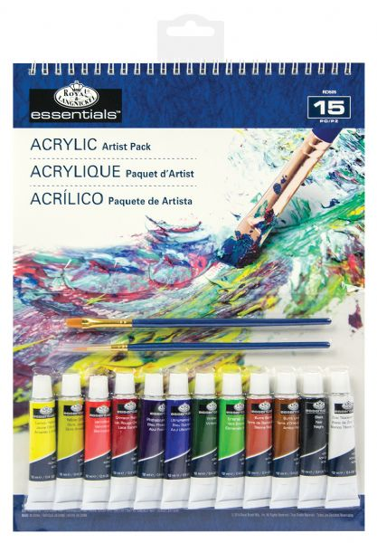 Royal & Langnickel Essentials™ Acrylic Paint Artist Pack