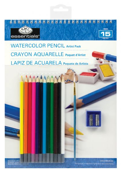 Royal & Langnickel Essentials™ Watercolor Pencil Artist Pack