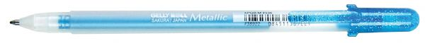Gelly Roll® Blue Metallic Gel Pen: Blue, Metallic, Gel, 1mm
