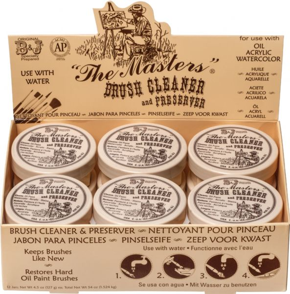 The Masters® Brush Cleaner 2.5oz Display