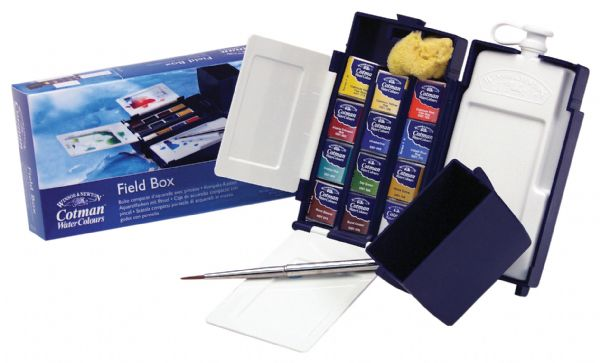 Winsor & Newton Cotman™ Watercolor Field Box Set