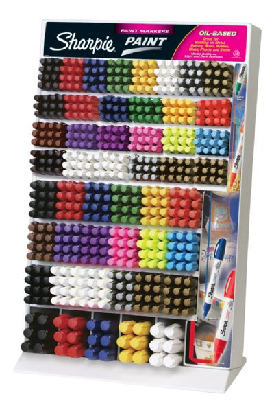 Sharpie Oil-Based Paint Marker Display