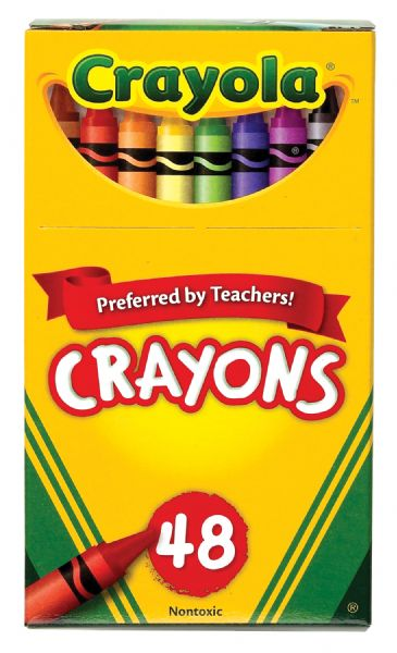 Crayola Original Crayon 48-Color Set