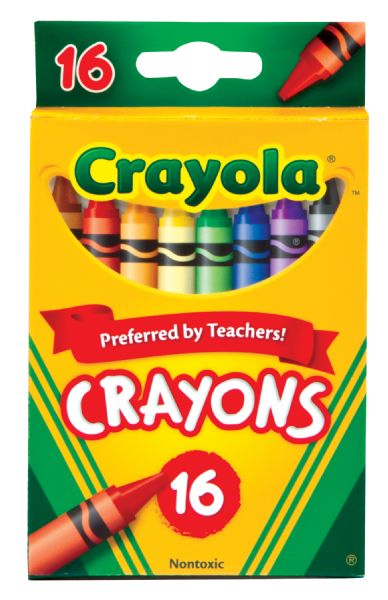 Crayola Original Crayon 16-Color Set
