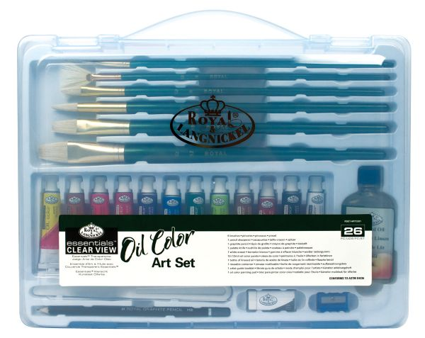 Royal & Langnickel Essentials™ Clear View Oil Painting Set