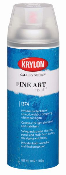 Krylon Gallery Series™ Fine Art Fixatif Spray