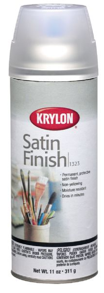 Krylon Satin Finish Spray