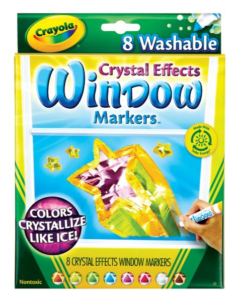 Crayola Crystal Effects Window Markers