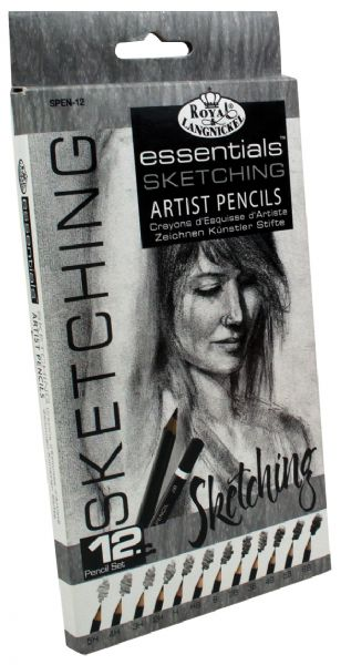 Royal & Langnickel Essentials™ Sketching Artist Pencil Set