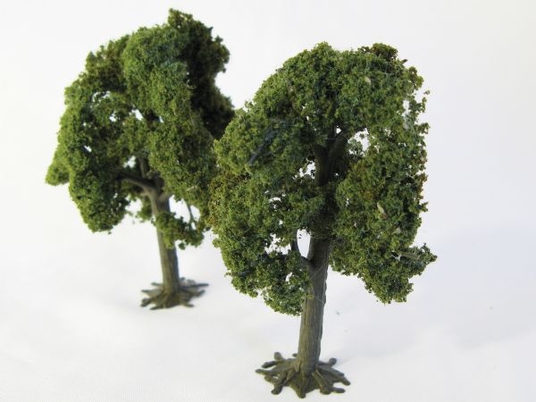 Wee Scapes Architectural Model Deciduous Trees 2-Pack