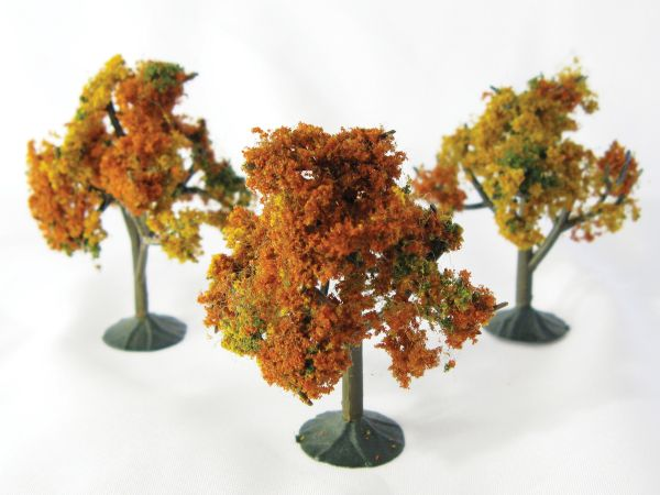 Wee Scapes Architectural Model Autumn Trees 3-Pack