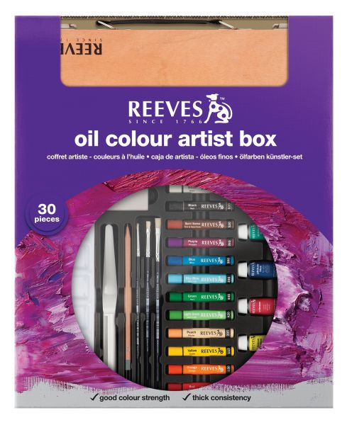 Reeves Oil Color Box