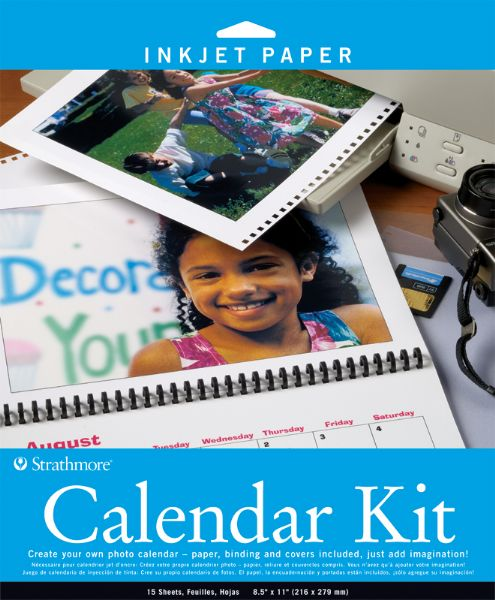 "Strathmore 8.5"" X 11"" Inkjet Photo Calendar Kit"