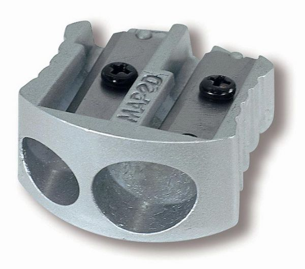 Maped Double-Hole Metal Wedge Sharpener