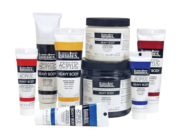 Liquitex Professional Series Heavy Body Color Full Assortment