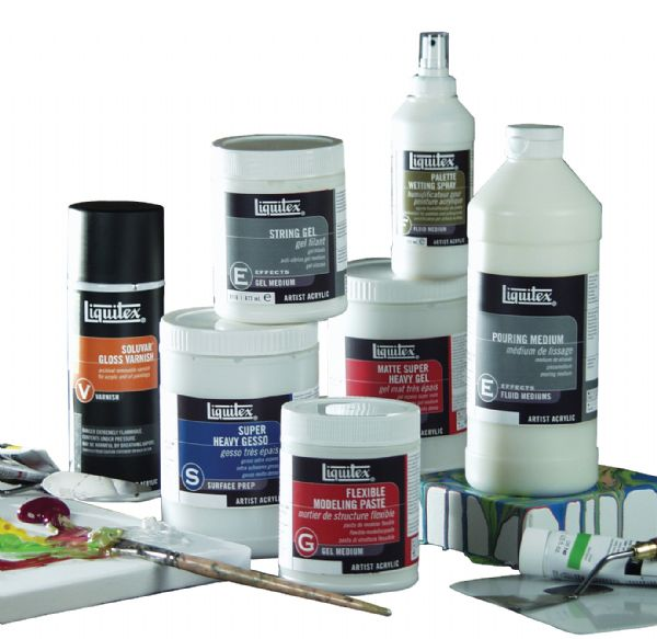 Liquitex Acrylic Mediums Assortment C