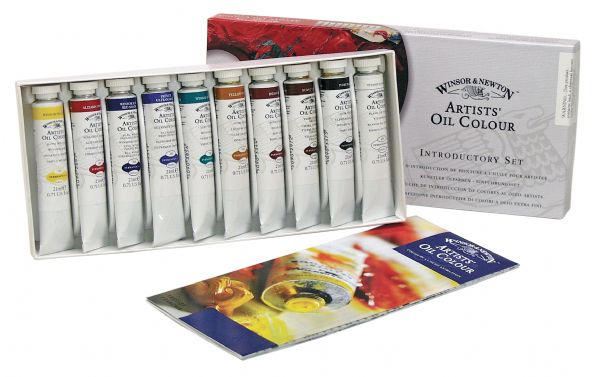 Winsor & Newton Artists' Oil 10-Color Introductory Set