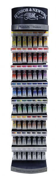 Winsor & Newton Winton Winton Oil Color Paint Display Assortments
