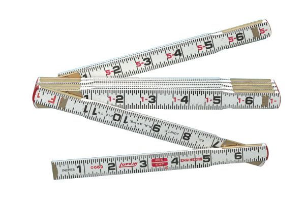 Lufkin® 6' Red End Folding Ruler