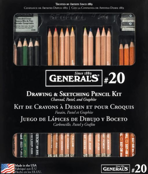 General's® Classic Sketching & Drawing Kit