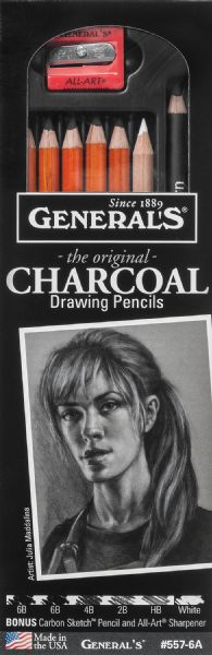 General's® Charcoal Drawing Pencil Set