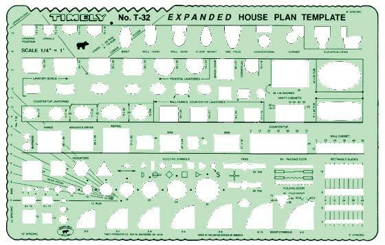 Timely Expanded House Plan Template
