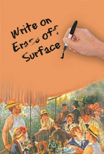 Luncheon by Renoir Dry Erase Image Board