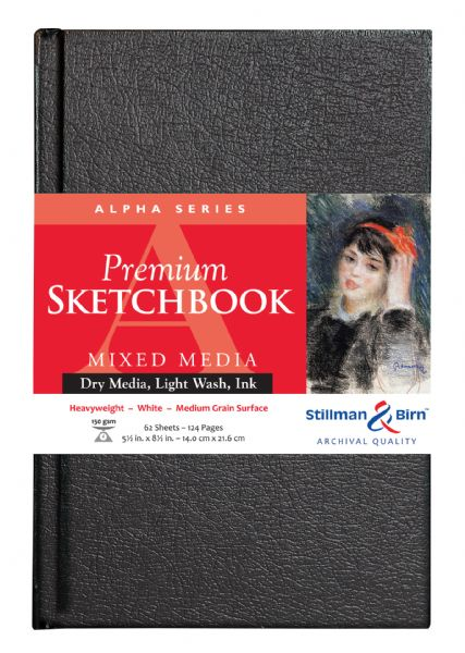 "Stillman & Birn™ Alpha Series Hardbound 5.5"" X 8.5"" Sketchbook"