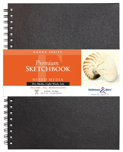 "Stillman & Birn™ Gamma Series 9"" X 12"" Wirebound Sketchbook"