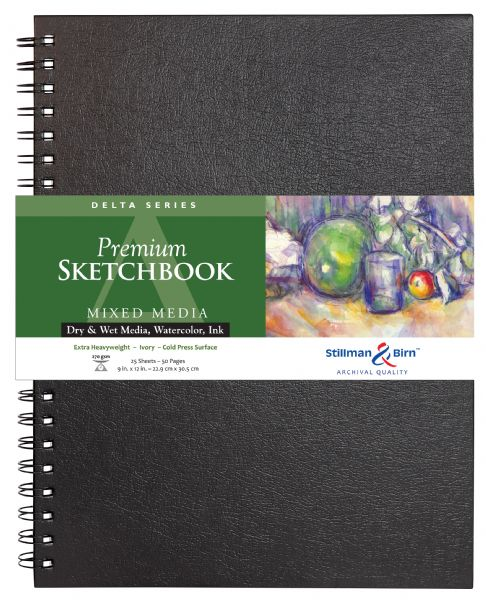 "Stillman & Birn™ Delta Series 9"" X 12"" Wirebound Sketchbook"
