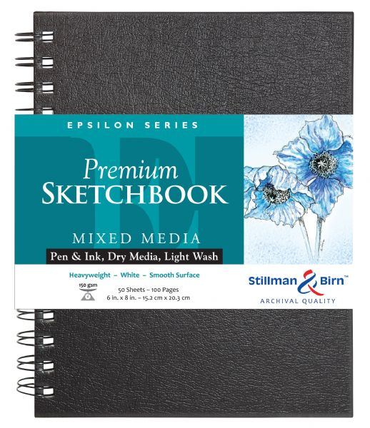 "Stillman & Birn™ Epsilon Series 6"" X 8"" Wirebound Sketchbook"