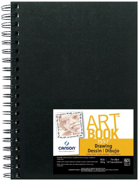 "Canson ArtBook™ 7"" X 10"" Wirebound Drawing Book"