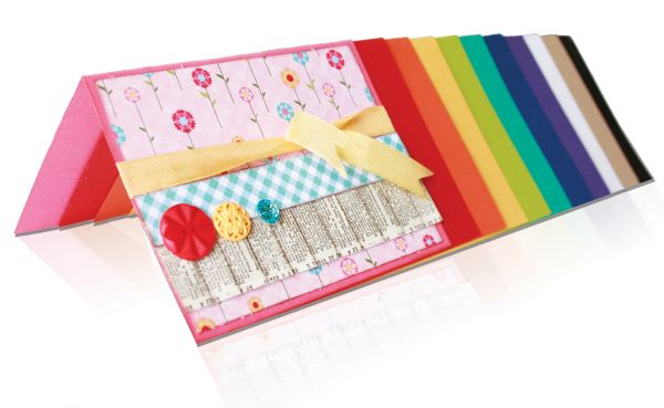 Bazzill® Card Shoppe Premium Cover Stock Rock Candy