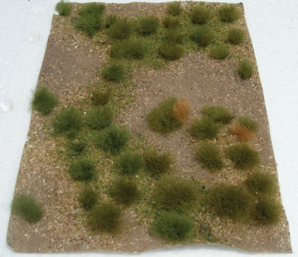Wee Scapes Architectural Model Wild Grass Green Meadow Sheet