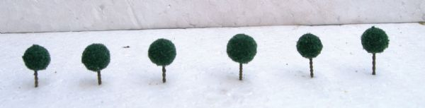 Wee Scapes Architectural Model Dark Green Micro Trees