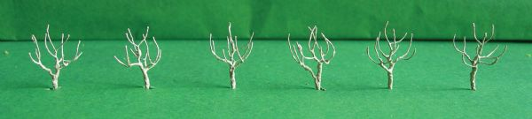 "Wee Scapes Architectural Model 3/4"" Round Head Armature 6-Pack"