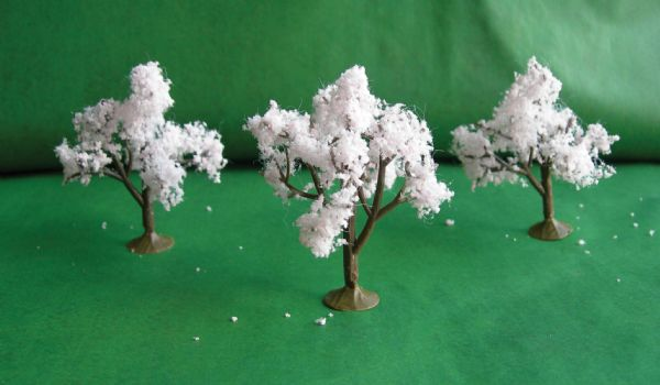 Wee Scapes Architectural Model Cherry Trees
