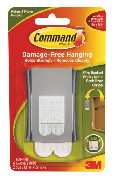 Command Sticky Nail Wire Back