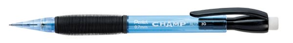 Pentel Champ® .7mm Mechanical Pencil With Blue Barrel