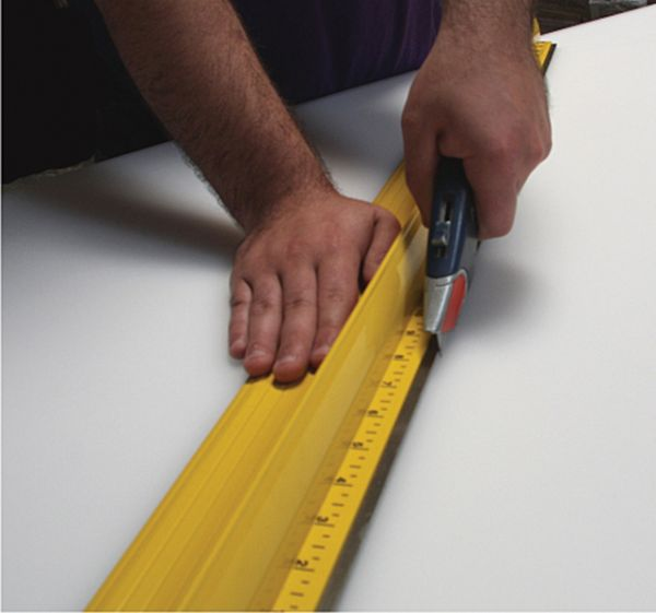 "Speedpress 100"" Ultimate Steel Safety Ruler"