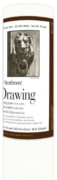 "Strathmore 400 Series 42"" X 10 Yard Drawing Paper Roll"
